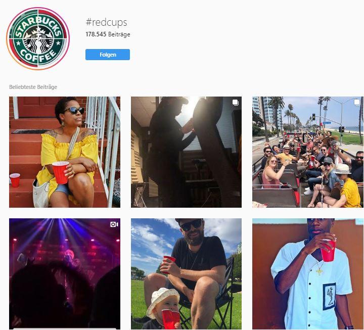 Starbucks #redcups